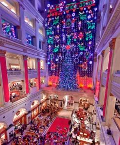 Macy's Light Show, Philadelphia