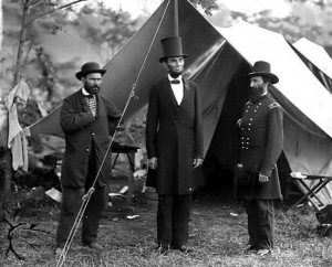So humble was Abraham Lincoln that he preferred to live in a tent on the White House lawn.