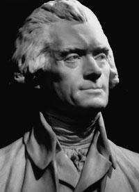 Jefferson bust by Houdon