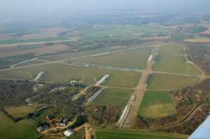 The sort of modern aerial photograph you will find on Airfield Information Exchange. By Richard E Flagg.