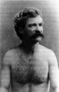 Mark Twain in the raw.
