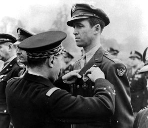 American film star, James Stewart, was stationed at Old Buckenham during the spring of 1944 as the Group Executive Officer