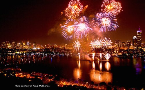 4th July - B fireworks