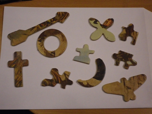 10 pieces from Roger D Roe jigsaw puzzle