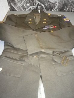 Uniform belonging to Phillip Buffinton of the 93rd Bomb Group