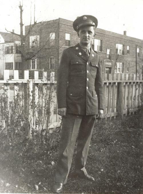 joe jablonsky in uniform