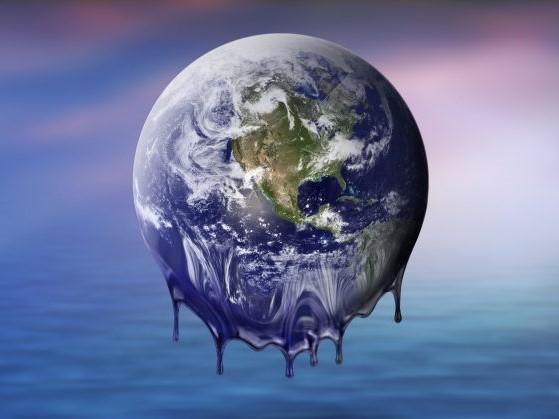 Earth melting image cropped